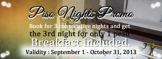 Piso Nights Promo